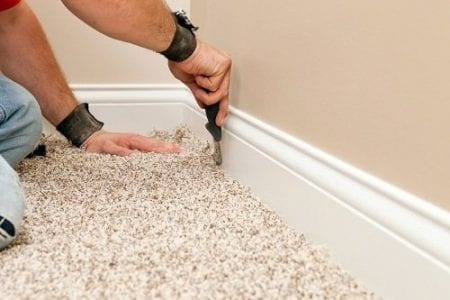 cleaning maintaining carpet underlay