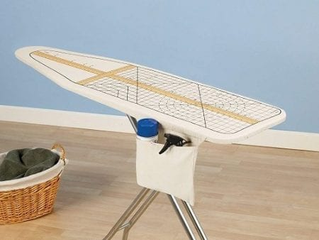 measure ironing boards