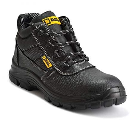 Mens Waterproof Safety Work Boots By Black Hammer