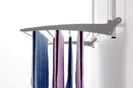 Sturdy Wall Mounted Clothes Airers Features