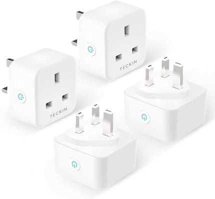 13A 4 Pack Smart Plug By TECKIN