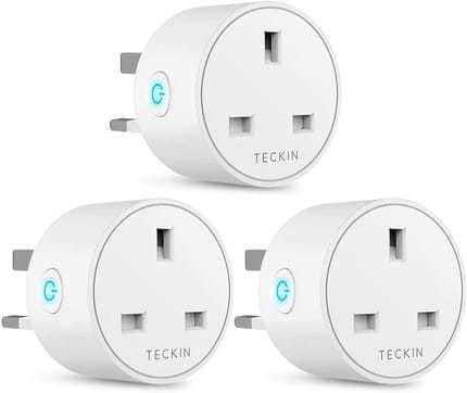 13A 3 Pack Outlet Smart Plug WiFi Socket By TECKIN