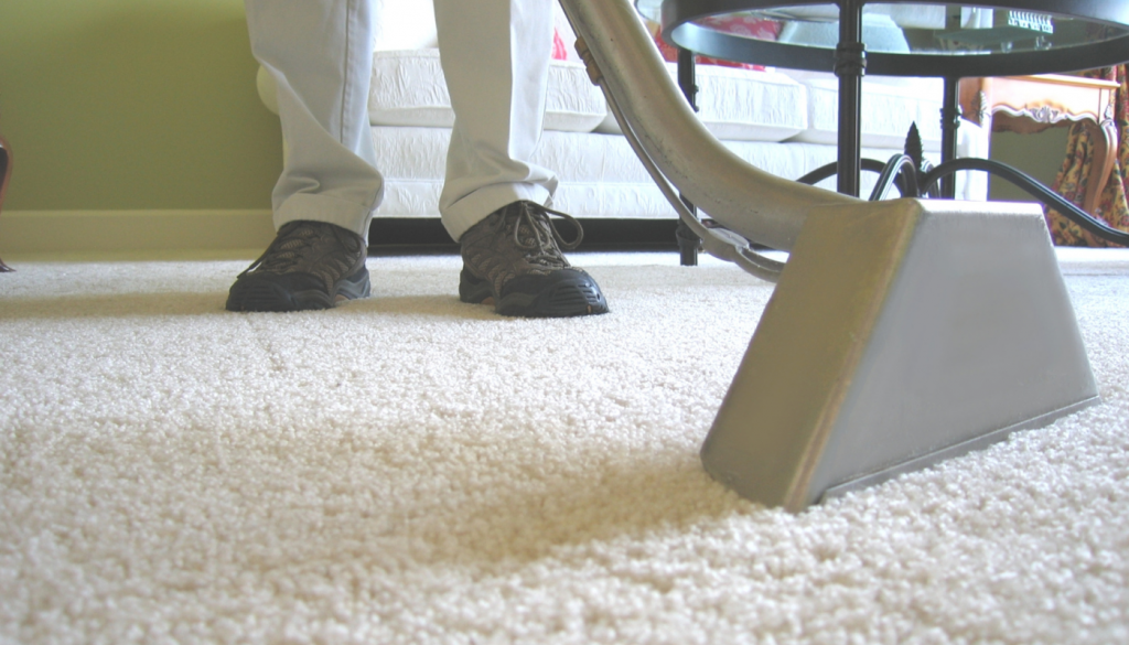 Vax carpet cleaner not picking up water, suction port