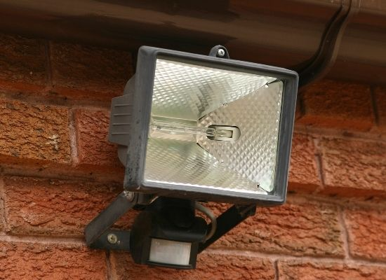 Security light not working
